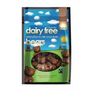 Medvedki, nadomestek mlečne čokolade