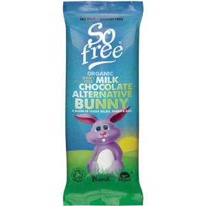 Velikonočni zajček, nadomestek mlečne čokolade