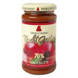 Šipkova marmelada, slajena z agavinim sirupom, 70% sadni delež