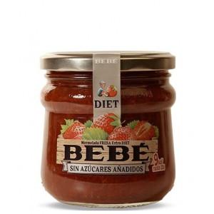 Jagodna marmelada, brez dodanega sladkorja, 60% sadni delež