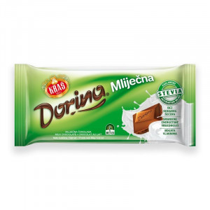 Mlečna čokolada, brez dodanega sladkorja