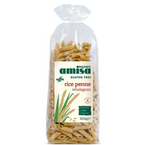Polnozrnate riževe testenine, peresniki Penne