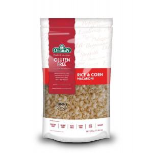 Testenine iz riža in koruze, polžki