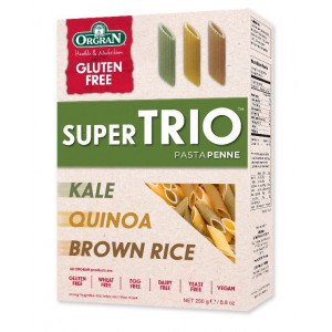 SuperTrio testenine: ohrovt, kvinoja in rjavi riž, peresniki