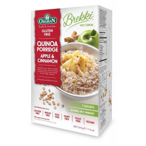 Kvinojina kaša z jabolki in cimetom