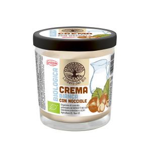 Kremni namaz iz bele čokolade, z lešniki