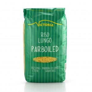 Dolgozrnati parboiled riž