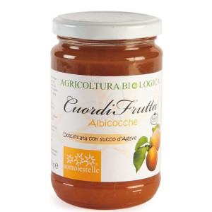 Marelična marmelada, slajena z agavinim sirupom, 70% sadni delež