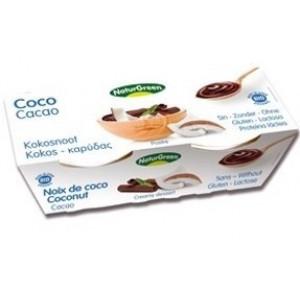 Kokosov desert s kakavom