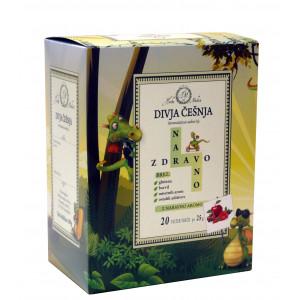 Aromatiziran sadni čaj Naravno zdravo, okus divje češnje