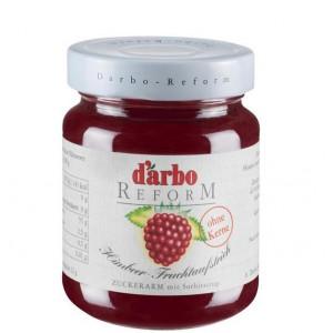 Malinov džem, brez dodanega sladkorja, 40% sadni delež