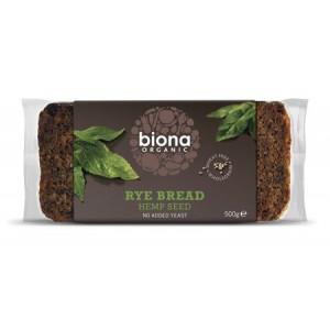 Ržen kruh s konopljinimi semeni