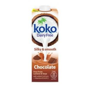 Kokosov napitek z okusom čokolade, s kalcijem in vitamini