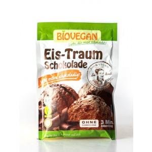 Zmes za pripravo čokoladnega sladoleda