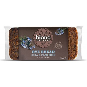 Ržen kruh s chia in lanenimi semeni