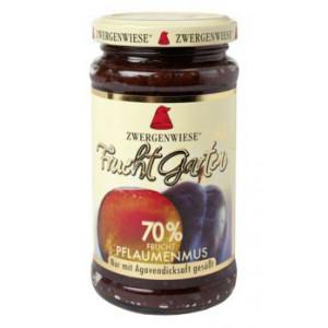 Slivova marmelada, slajena z agavinim sirupom, 70% sadni delež