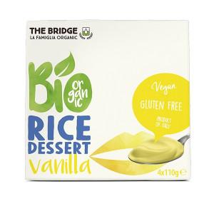 Rižev desert z vaniljo