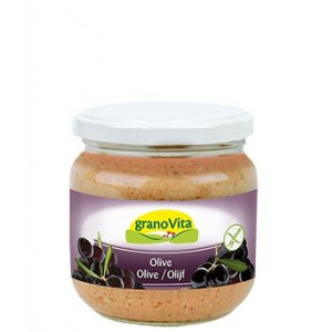 Krušni namaz s črnimi olivami