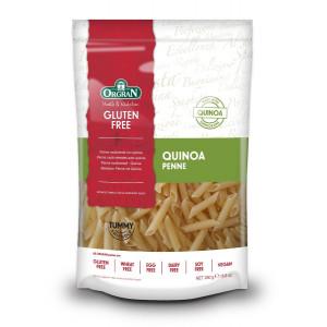 Večzrnate testenine s kvinojo, peresniki