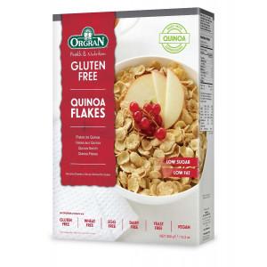 Kvinojini kosmiči, z manj sladkorja in maščob