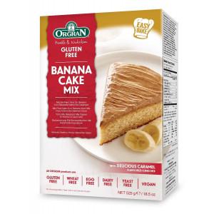 Mešanica za pripravo bananine torte s karamelno kremo
