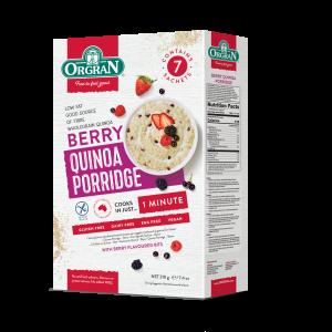 Kvinojina kaša z gozdnimi sadeži