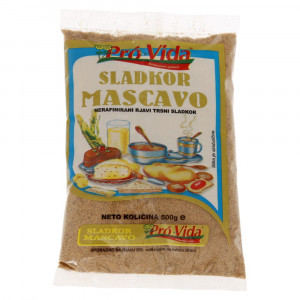 Rjavi sladkor Mascavo