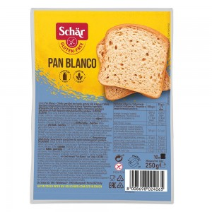 Beli kruh Pan Blanco, v rezinah
