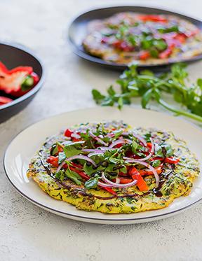 Špinačna omleta, brez glutena