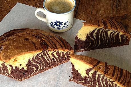 Marmorni kolač brez glutena