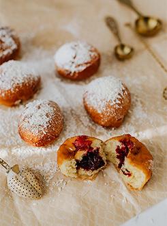 Mini krofi z marmelado, brez glutena