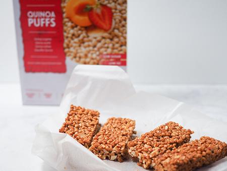 Kvinojine ploščice brez glutena